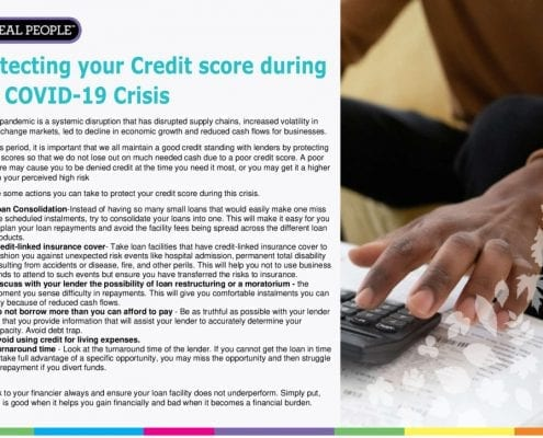 thumbnail of Protecting your credit score during the COVID -19 Crisis